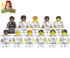LEGO Real Madrid Football Team 11 Players 18-19 Jersey Custom Minifigure