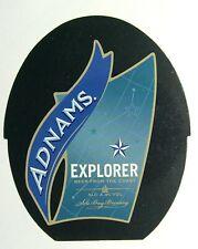 Beer Pump Clip Badge Insert Explorer Beer Adnams Sole Bay Brewery PB309