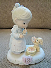 Precious Moments Growing In Grace age 12 porcelain birthday figurine