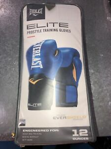 Everlast Elite Prostyle Training Gloves 12 Ounces W/ Hand Wraps and Speed Rope