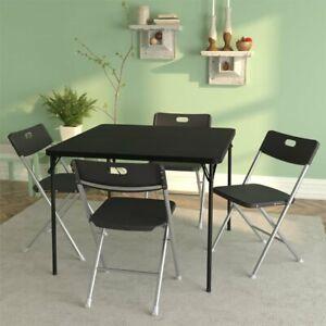 4 Resin Seat & Back Folding Chair