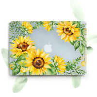 Sunflowers Floral Flowers Hard Cover Case For Macbook Pro Retina Air 11 12 13 15