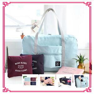 UK Folding Shoulder Shopping Handbag Shopper Reusable  Beach Storage Travel Bag