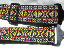 HIPPIE CAMERA NECK STRAP  X / O pattern , Metal ends  ST#98