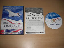 Altitude Concorde PC CD Add-on Flight Simulator SIM 2002 & 2004 FS2002 FS2004 FS