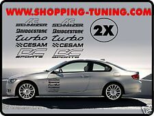 KIT STICKER LATERAL TUNING BMW E30 E36 E39 E40 E46 Z4