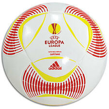 adidas Ue League Predator Capitano 2012 Soccer Ball White Brand New Size 4