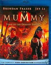 THE MUMMY TOMB OF THE DRAGON EMPEROR - BRENDAN FRASER - JET LI - BLU RAY SEALED