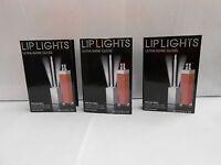 3 Model Co Lip Lights Ultra Shine gloss Sample - no lights PINK SEA SHELL