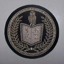 Secret Occult Seal Sigil Illuminati Society Symbol Owl Wisdom Minerva Patch SEMT
