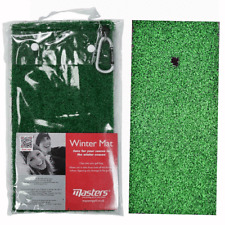 MASTERS FAIRWAY MAT / WINTER RULES ASTRO TURF GOLF MAT / PROTECTS YOUR COURSE