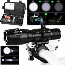 5000LM X800 XML T6 LED Flashlight Tactical Military Bicycle Safe DrivrLight