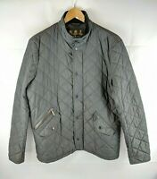 Men's Black BARBOUR CHELSEA SPORT Quilt COUNTRY Jacket Coat Size SMALL