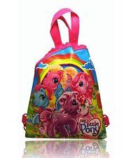 New My Little Pony Drawstring Backpack School Swim Library Bag 34 x 27cm