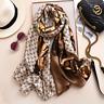 HOT Luxury Brand Silk Scarves Women Designer Summer Shawls Wraps Foulard Stoles