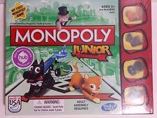 NEW Monopoly Junior Board Game Sealed 2013 Hasbro