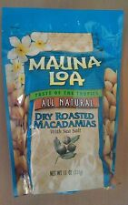 Hawaii Dry Roasted Mauna Loa Macadamia Nuts with Sea Salt - 11 oz