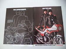 advertising Pubblicità 1982 MOTO HONDA CBX 400 F-II FII F2