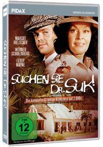 Suchen Sie Dr. Suk * DVD 13-teilige Krimi-Abenteuerserie * Pidax Neu