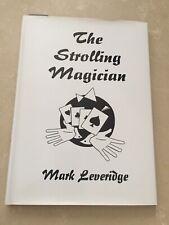 (K)Magic Trick Book The Strolling Magician By Mark Leveridge