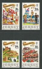 Jersey 1990 Festival of Tourism-Attractive Topical (536-39) Mnh