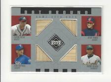2002 UD Diamond Connection Furcal/Omar Vizquel/Alex Rodriguez/Miguel Tejada BAT