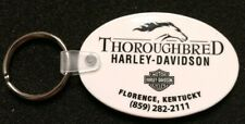 RARE THOROUGHBRED HARLEY ON 1 SIDE CINCINNATI H-D ON OTHER SIDE ERROR KEY CHAIN