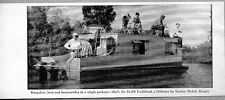 1957 Magazine Photo Yachtland Houseboat  29 ft by Stanley Mobile Homes