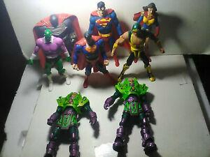 DC Direct Universe Multiverse lot - SUPERMAN LOIS BRAINIAC LUTHOR STEEL
