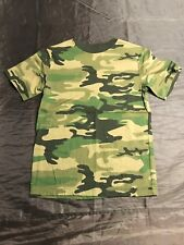 Cherokee Boys' Camo T-Shirt Size: Youth Medium Excellent Condition Camouflage