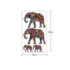 Large India Ganesha Elephant Mural Wall Stickers Art Vinyl Decal Room Home Decor