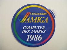 Comodore c64  -  COMPUTER DES JAHRES 1986  -  Original 80er Jahre Sammlerstück