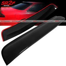 Rear Roof Spoiler Window Visor Glossy Black Wing fits 95-98 Nissan 240SX S14