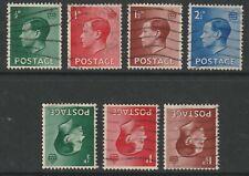 New listing 1936 Kedviii Set Of 4 Sg457/460 Plus Sg457wi/459wi Inverted Watermark Used