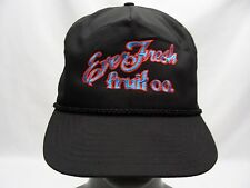 EVER FRESH FRUIT COMPANY - LIGHTWEIGHT ADJUSTABLE STRAPBACK SLIDER BALL CAP HAT!