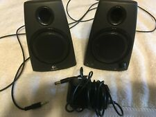 New listing Logitech Z130 2 Piece Multimedia Stereo Pc, Laptop Computer Speakers