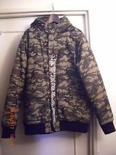 EVERLAST Parka Alpine  Capuche Camouflage taille  L Comme NEUF