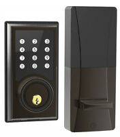 Turbolock TL-201 Electronic Keypad Door Locks Deadbolt w/ Code Disguise 21-User