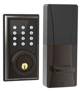 Turbolock TL201 Electronic Keypad Door Lock Deadbolt Keyless Entry Code Disguise