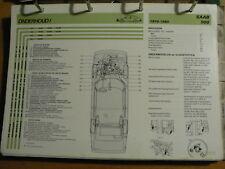 SAAB 900 1979-80 INFO TECHNICAL INFORMATION CAR AUTO  OLY100