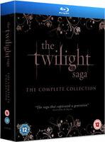 The Twilight Saga - The Complete Collection 5 Film Nuovo Regione B