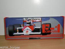 FORMULA 1 Vintage Magnetic Pencil Case - Mclaren / Alain Prost ?