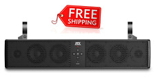 MTX MUD6SPBT SOUNDBAR BLUETOOTH MOTORSPORT 6 SPEAKER SYSTEM FREE SHIPPING