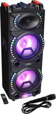 PARTY PARTY-STUP210 DJ SOUND SYSTEM 500W USB BLUETOOTH SD-CARD LED EFFEKT AUX
