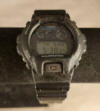 Classic Casio G-Shock DW-6900 digital Sport Diver Watch Black Red 20 bar