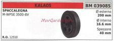 Roue KALAOS Fendeuse à Bois M-WPSE 3500-8V 039085