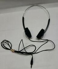 Vintage Sony MDR-010 Headphones Dynamic Stereo Over the Ear Foam Headphones