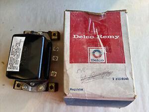 C645 AC Delco Remy Voltage Regulator International Chevy Olds Series 1119240
