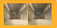 Italia Roma Basilique Sainte Maria Major, Foto Stereo Analogica PL62L10