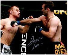 JACOB VOLKMANN Signed Autographed UFC MMA 8X10 PIC. C